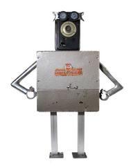 Nerdbots: handcrafted, found-object robots » Nerdbots » found-object robot sculptures for geeks & nerds alike