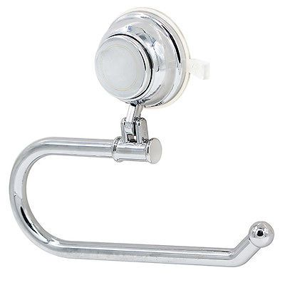 Toilet Paper Holder Suction Cup Tissue Roll Stand Bathroom Wall Hanging Newest
