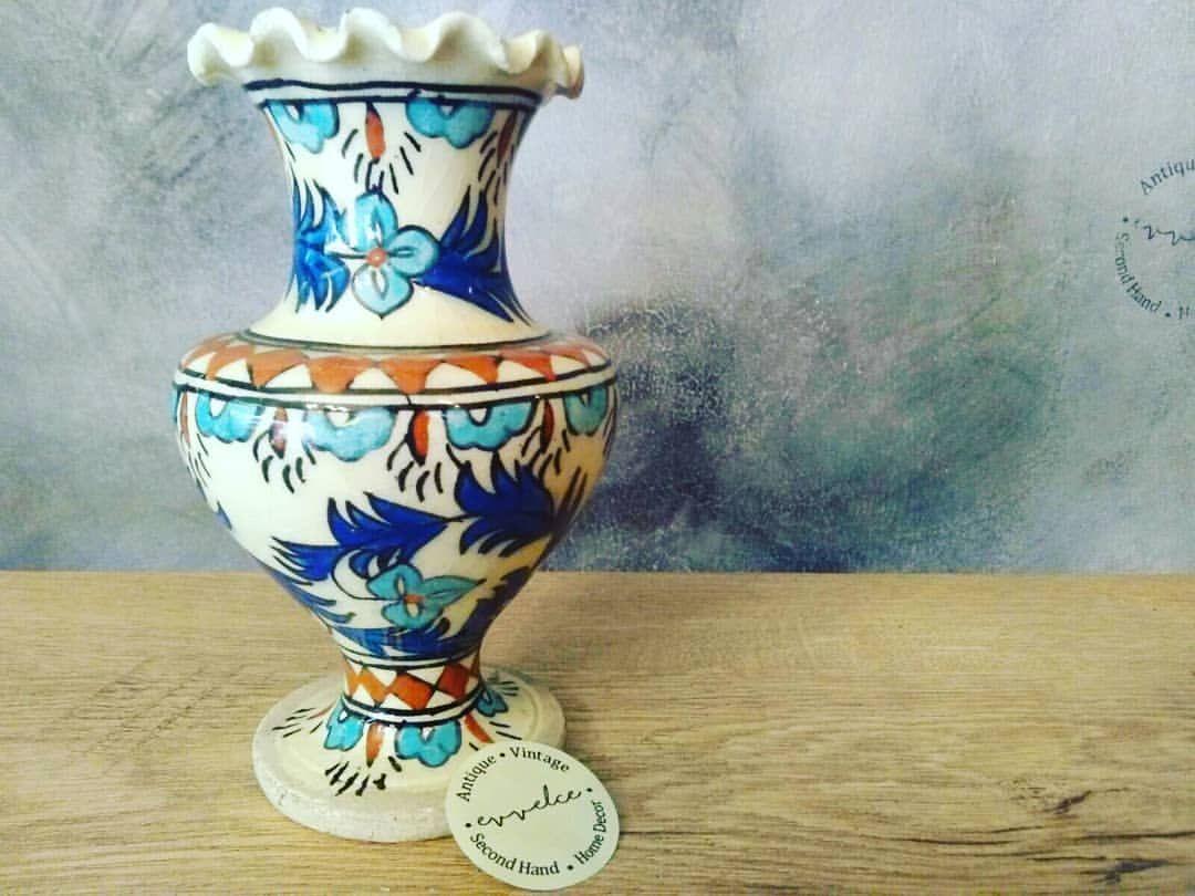 Vintage Kutahya Seramik El Boyama Cini Vazo 1960 Lar Evvelce Evvelcedukkan Vintage Vintagedecor Vintagevase Vase Cera Decor Instagram Instagram Profile