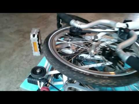 Storing My Touring Tools Inside My Brompton Frame Youtube