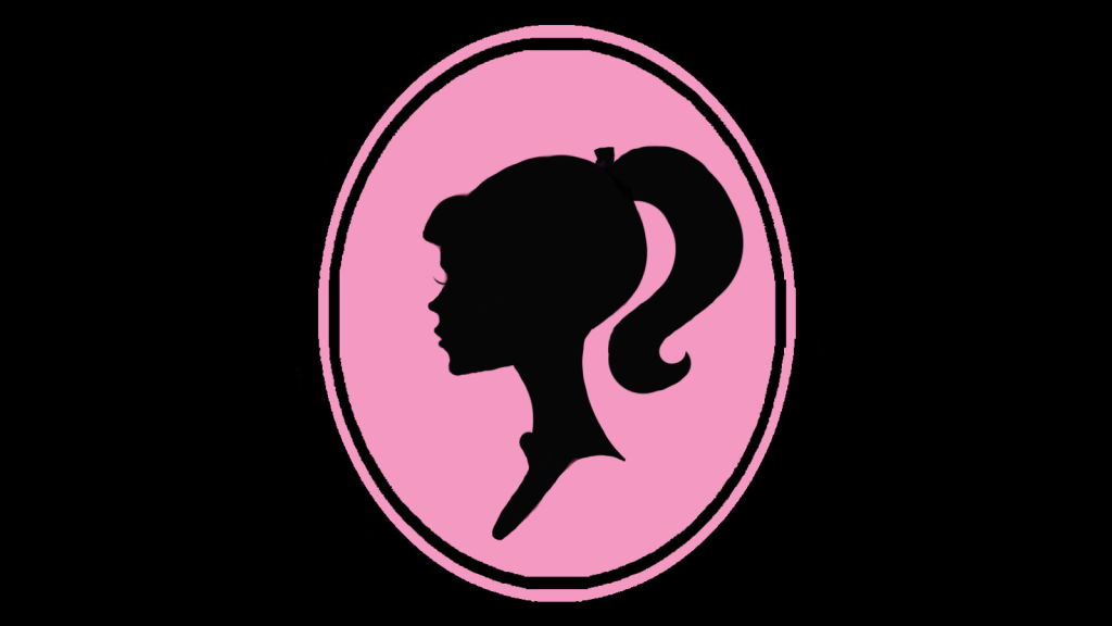 Barbie Logo Wallpaper Wallgood Com Barbie Logo Barbie Silhouette Barbie