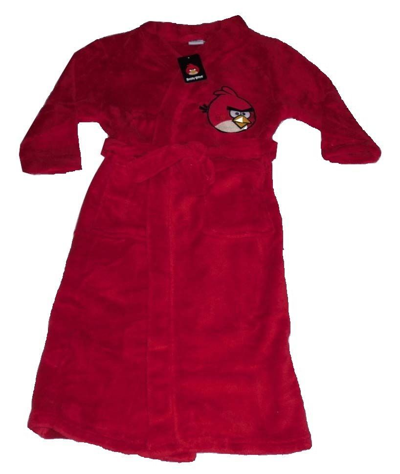 Boys dressing gowns robe angry birds u years
