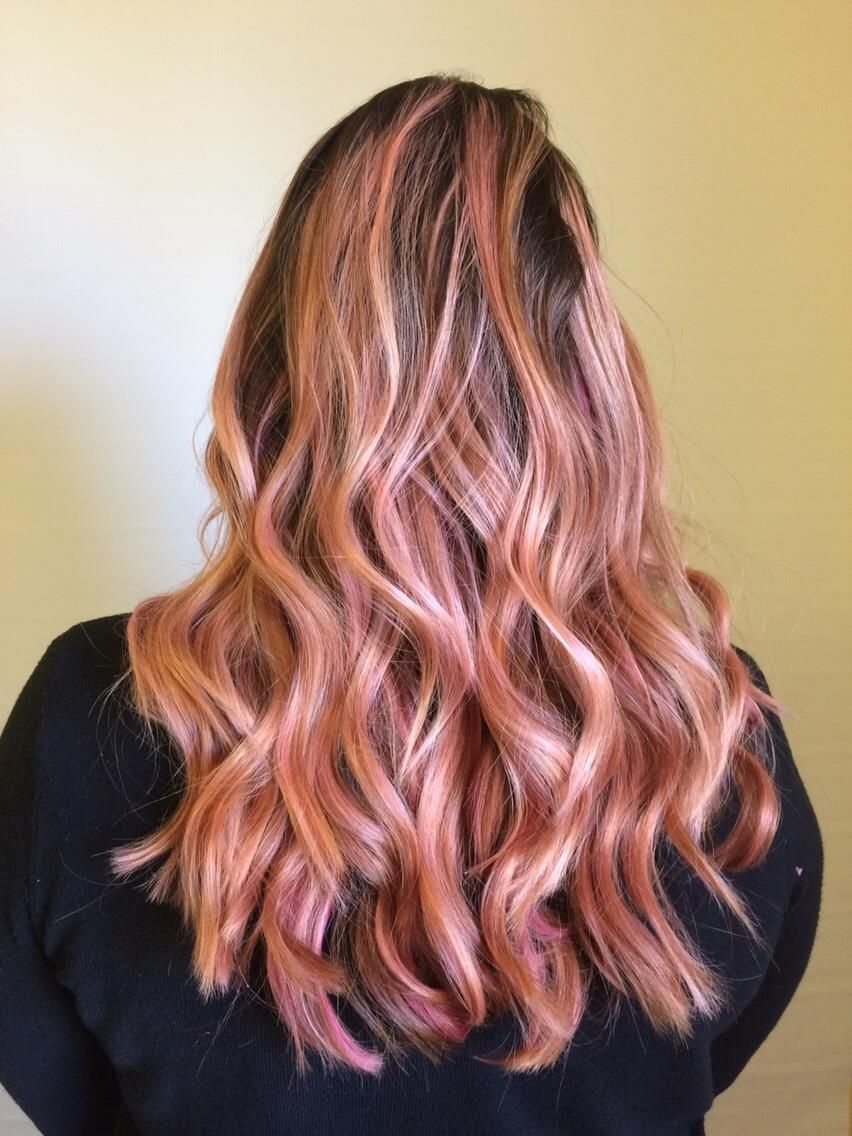 Retouch Partial Pink Hair Ideas Pinterest Hair Pink Hair And