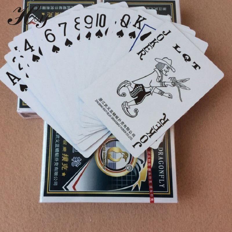 Poker Naipes Impermeable Juego De Mesa Baralho Tarjeta Palying