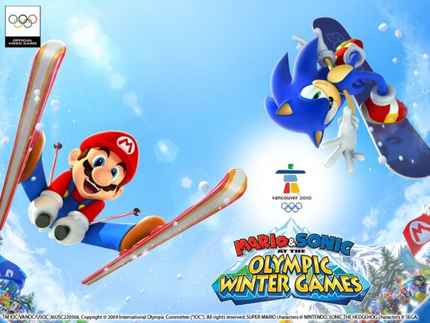 Mario And Sonic At The Olympic Winter Games Wallpaper Winter Games Sonic Winter Olympic Games