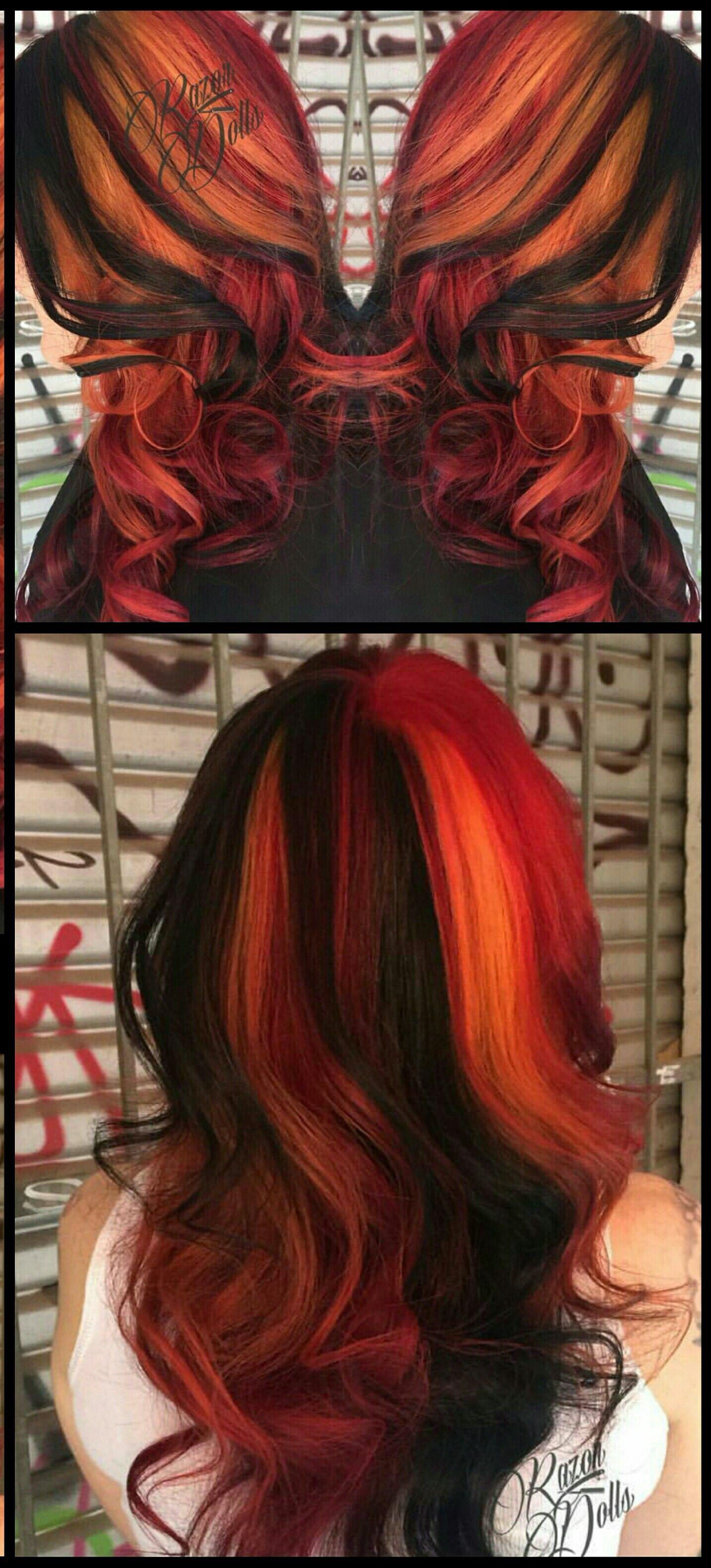 Dyed hair razordolls hair pinterest dyed hair dye hair and hair