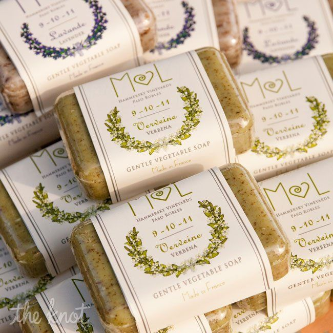 Customized Soap Favors
