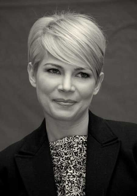 Michelle Williams Pixie Transition Style By Liz Hair Pinterest