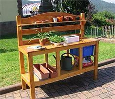 Fabriquer une table de rempotage en bois - Bois.com | jardinage ...