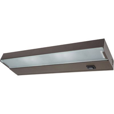 "NICOR Lighting 12.5"" Xenon Under Cabinet Bar Light Finish:"