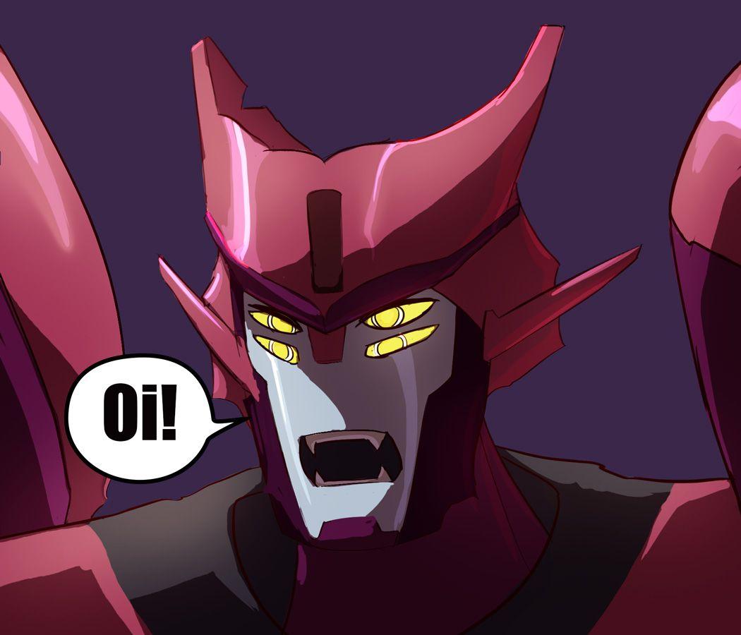 chop shop! that accent, though! ^3^ | transformers | pinterest