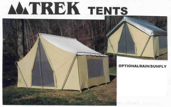 Cotton Canvas Cabin Tent 10u0027 X14u0027 Straight Wall : military surplus wall tent - memphite.com