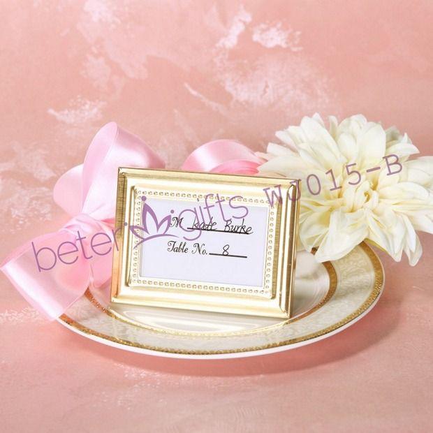 Beaded Gold Photo Frameplace Holder Wj015b Aliexpress Wedding