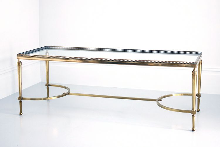 Marvelous ... A French Br Gl Coffee Table By Maison Jansen C1950 ...