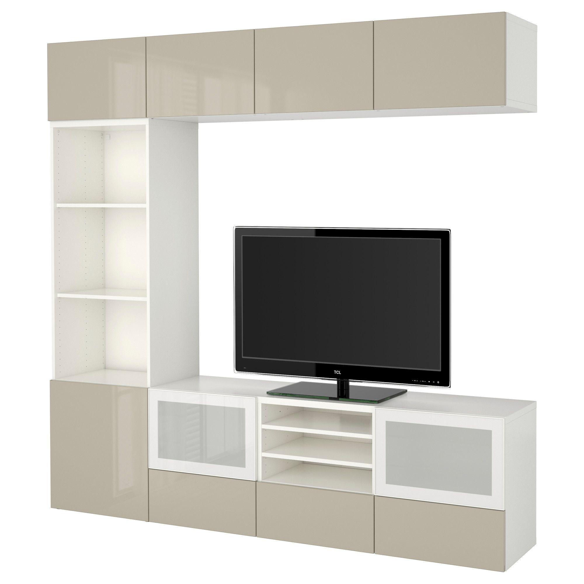 Ikea Vitrinentür bestå tv komb mit vitrinentüren weiß jetzt bestellen unter https