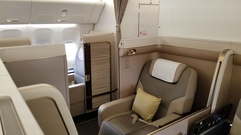 A look at Saudia (SV) First Class Suites on the Boeing 777 ...