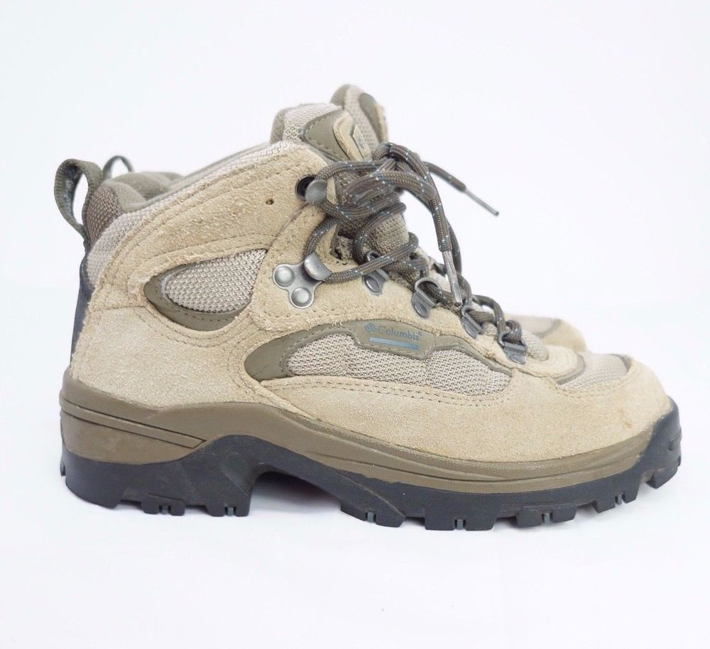 36762cd960 Columbia Hilltop Ridge Hiking Boots Brown Suede Women Size US 6.5 Eur 37.5  #Columbia #HikingBoots