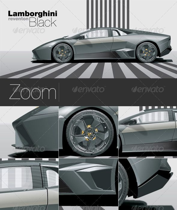 Black Lamborghini Car Fonts Logos Icons Lamborghini Cars Car