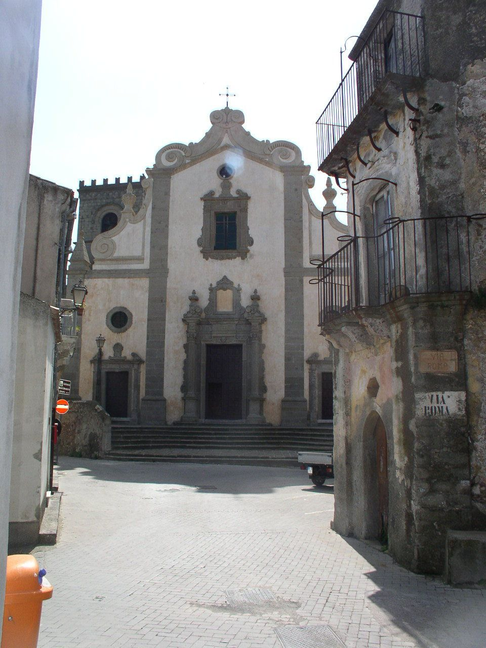 Church of holy mary in forza dagro godfather ii filming
