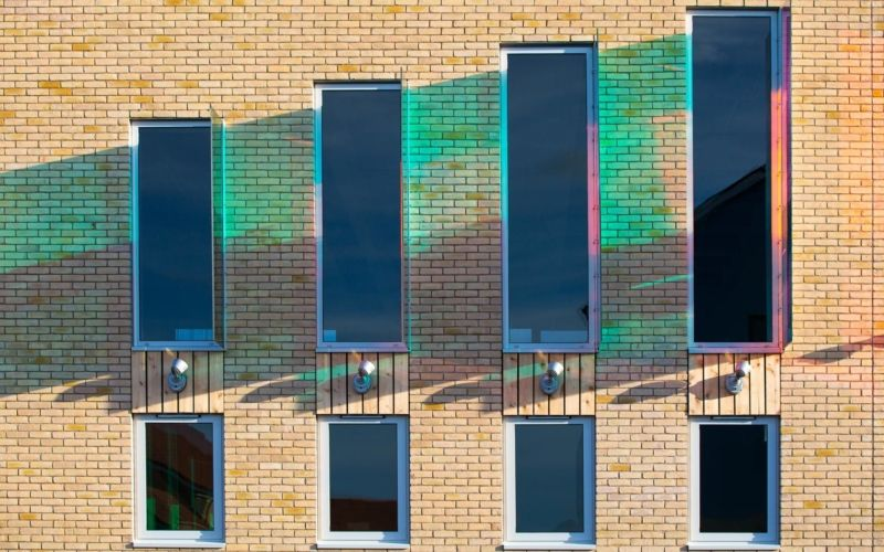 Lyde Green Community Centre | Glass artwork, Architecture ...