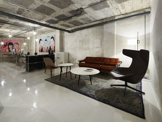 """""""Grimy to Glamorous for Spanish Office Space -   A grimy concrete basement in Mallorca became a slick, minimalist office space, courtesy of Madrid-based Oliver Hernaiz …"""" - Frame(web)"""