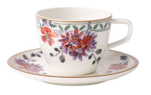 Kaffeetasse mit Untertasse 2-tlg. Verdure Artesano Provencal Villeroy und Boch - Kaffeetassen aus der Serie Artesano Provencal von Villeroy und Boch.