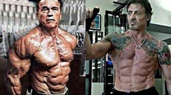 Arnold Schwarzenegger Very Rare Shots Youtube Training Motivation Sylvester Stallone Arnold Schwarzenegger