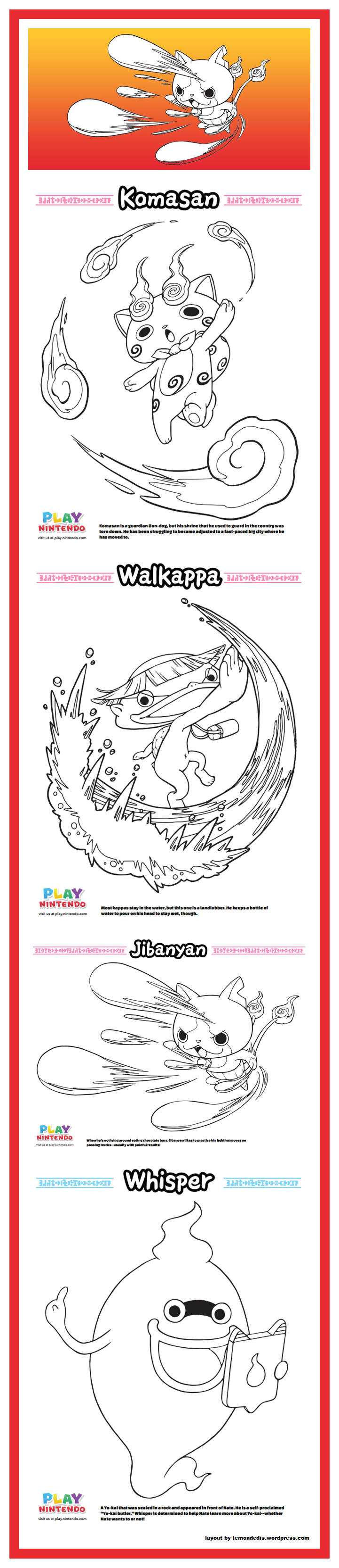 Pin by LMI KIDS on Yo-Kai Watch | Pinterest