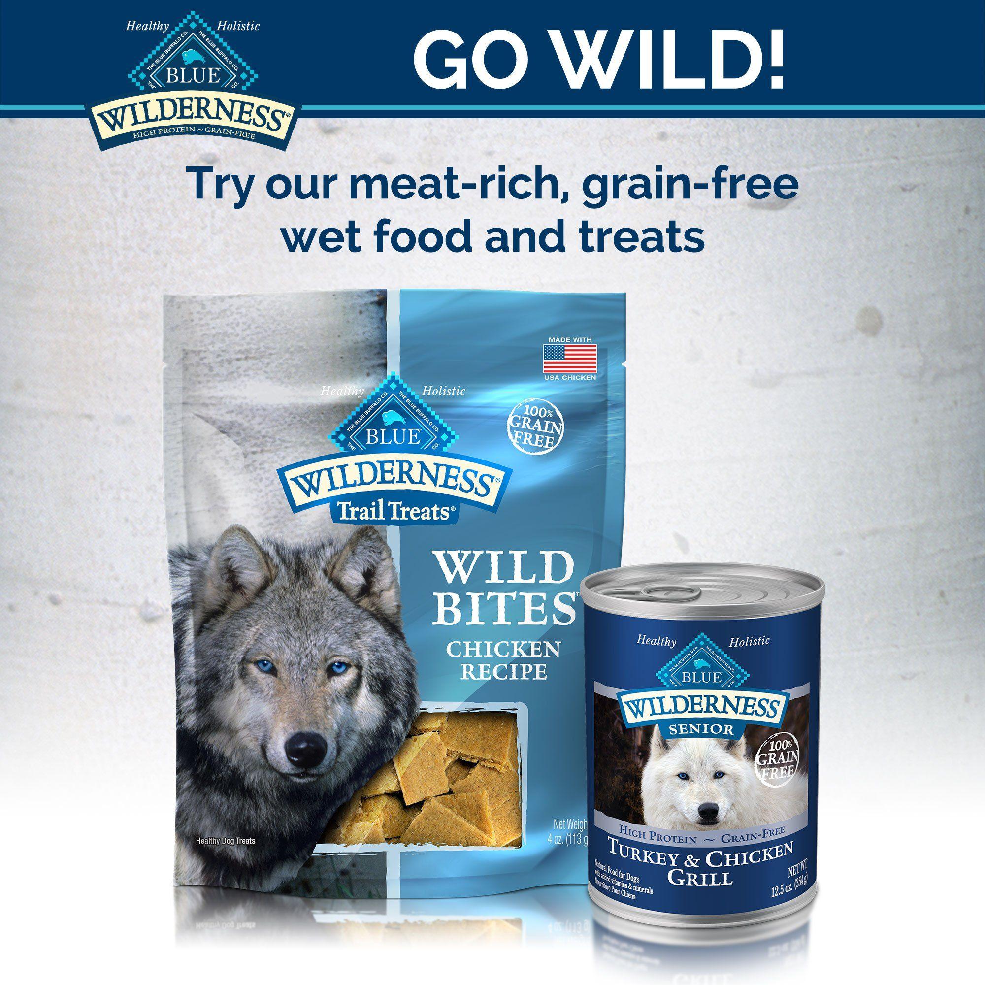 Blue Buffalo Blue Wilderness Chicken Senior Dry Dog Food 4 5 Lbs
