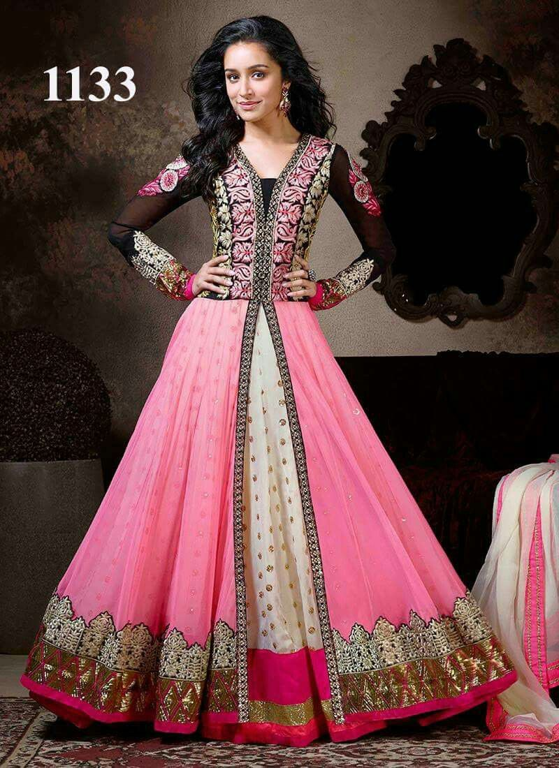Pin by chandni jadwani on anarkali dress pinterest anarkali