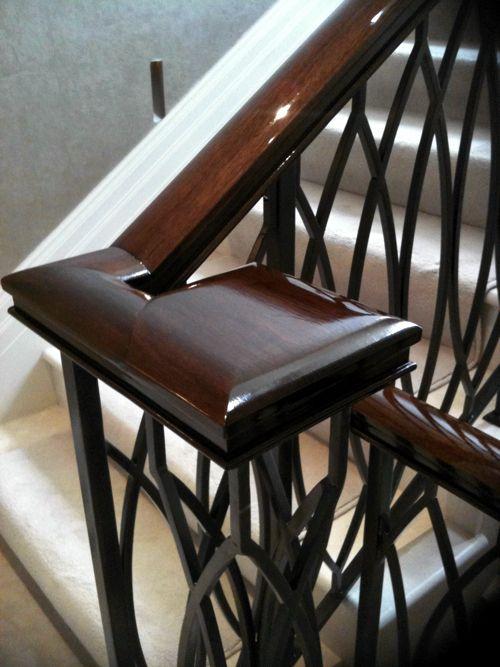 Best Walnut Handrail Www Paleamber Net Timber Handrail 400 x 300