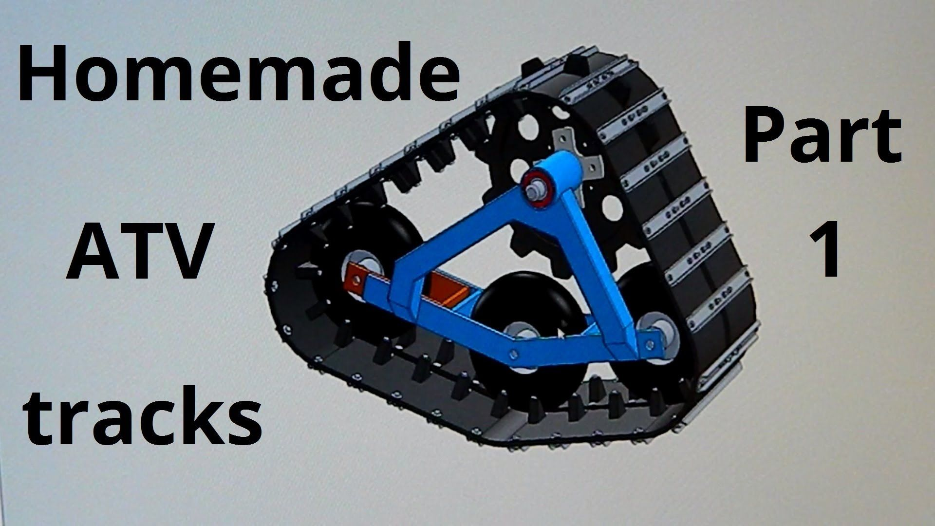 small resolution of homemade atv tracks part 1