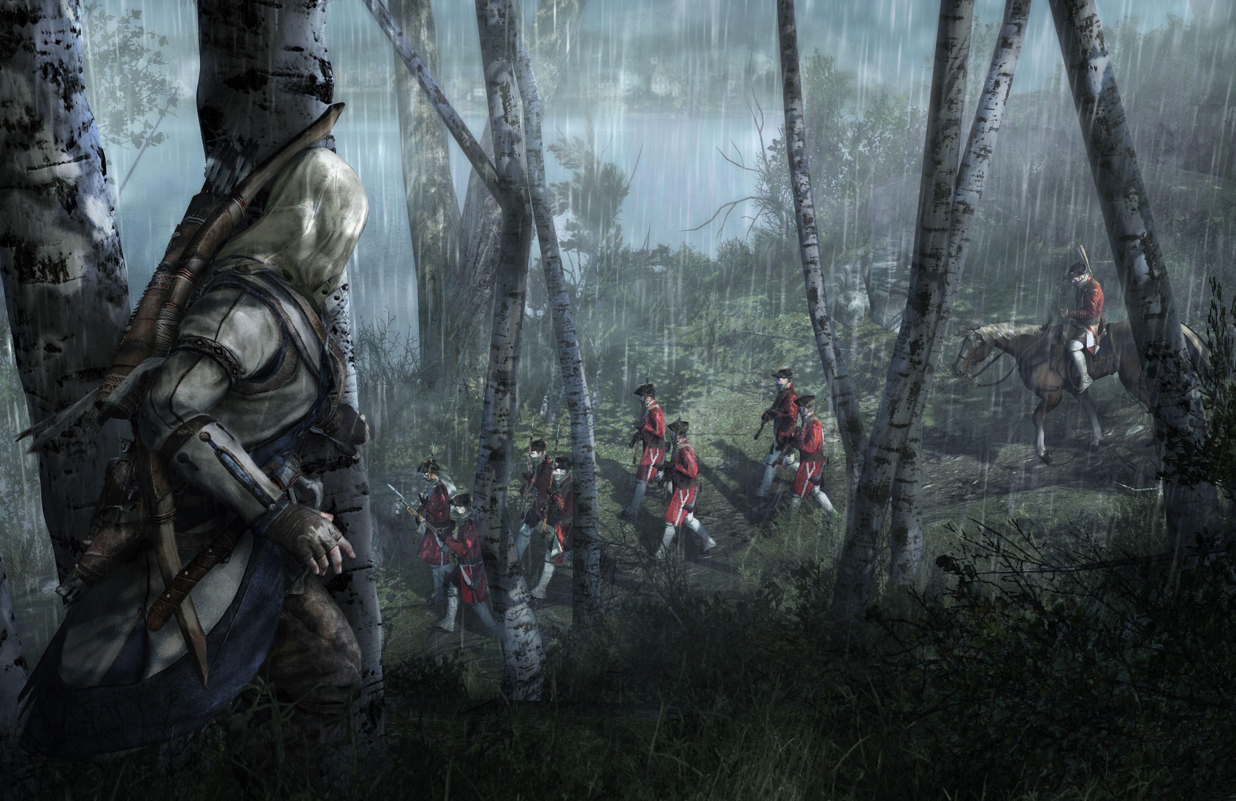 4k Wallpaper Assassins Creed Iii 4338x2811