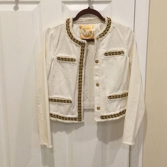 1dcc960fd43ae Michael Kors jean jacket
