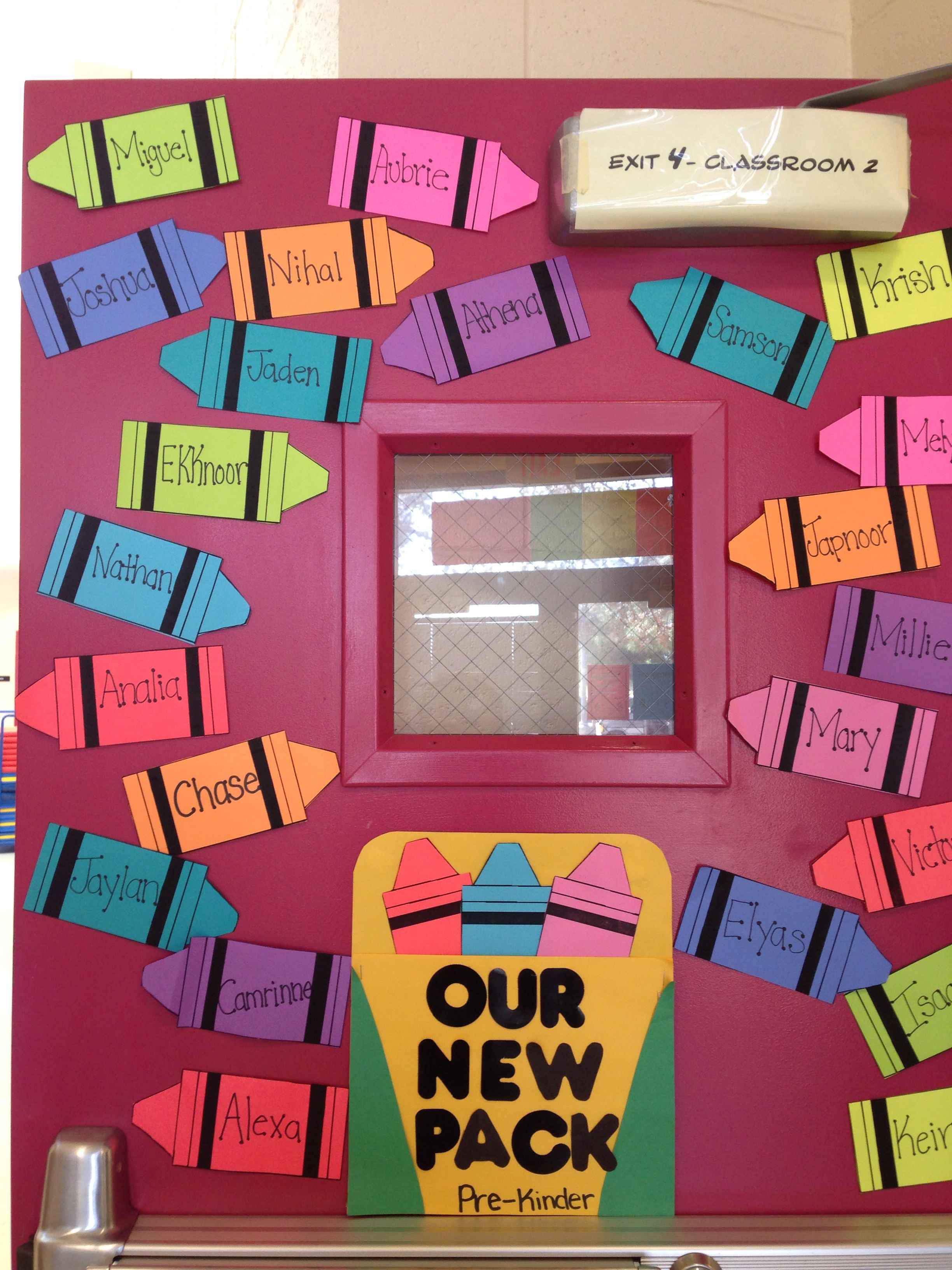 How Classroom Decor Affects Students ~ Beginning of the year door decoration welcoming new