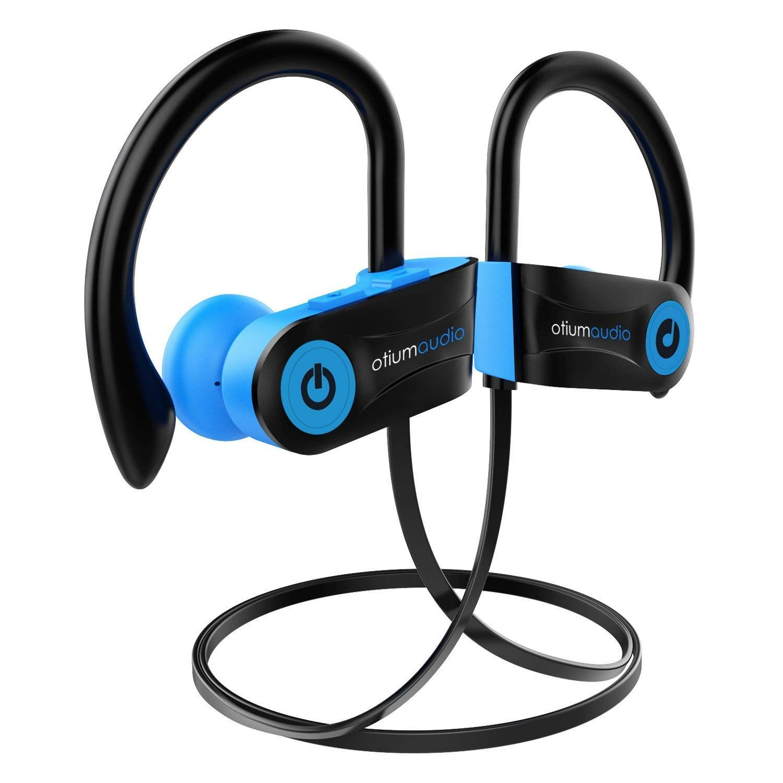 4831c529a93 Bluetooth Headphones, Otium Audio Wireless Sports Earbuds, Waterproof IPX7  w/Mic, HD Stereo in-Ear Earphones, Case, Fast Pairing, Gym Running Workout,  ...