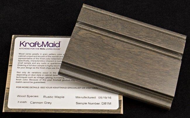 Best Cannon Grey On Maple Sample Chip Kraftmaid Three 400 x 300