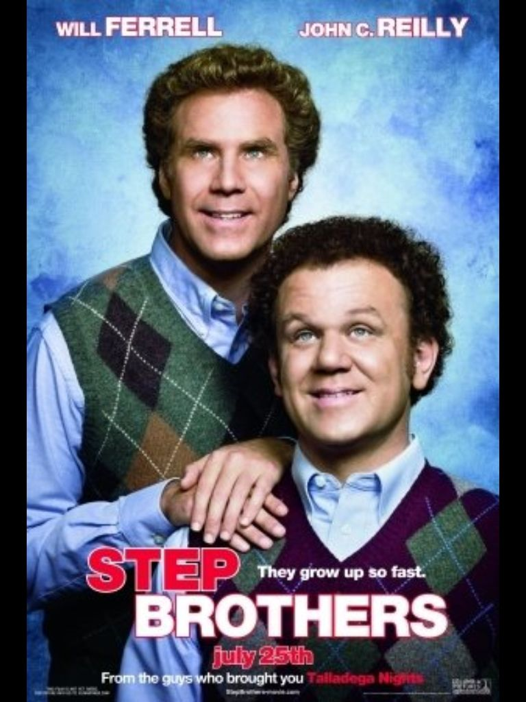 Stepbrothers With Images Brothers Movie Comedy Movies