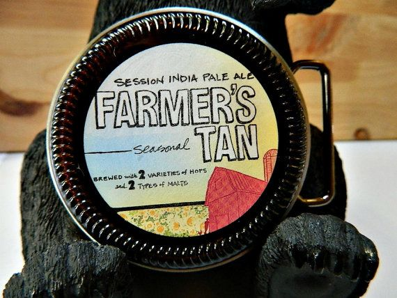 Beer Belt Buckle Southern Tier Brewing Farmers Tan by BrewPaw, $28.99