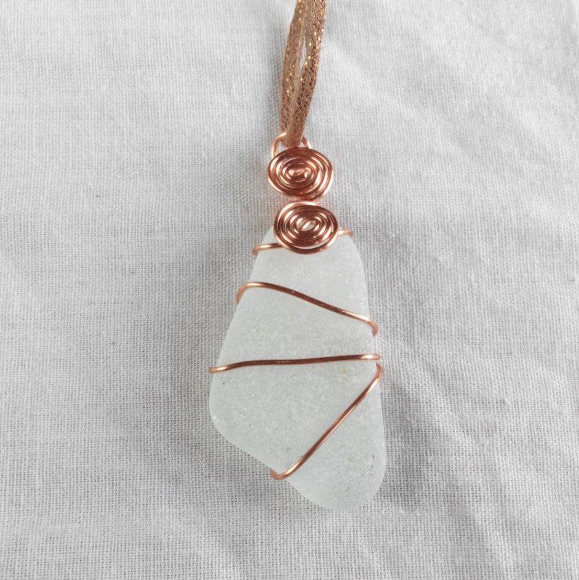 Genuine Irish sea glass necklace. made in Ireland by terramor on Etsy #irishsea Genuine Irish sea glass necklace. made in Ireland by terramor on Etsy #irishsea