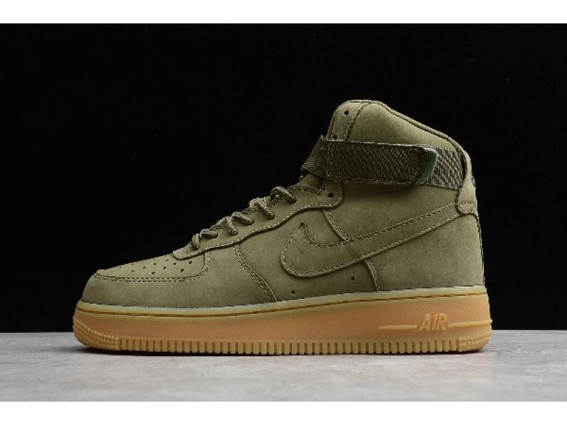 2019 Direct Selling New Arrival Nike Air Force 1 High Wb Medium Olive 922066 202 In 2020 Nike Air Force High Nike Air Nike Air Force