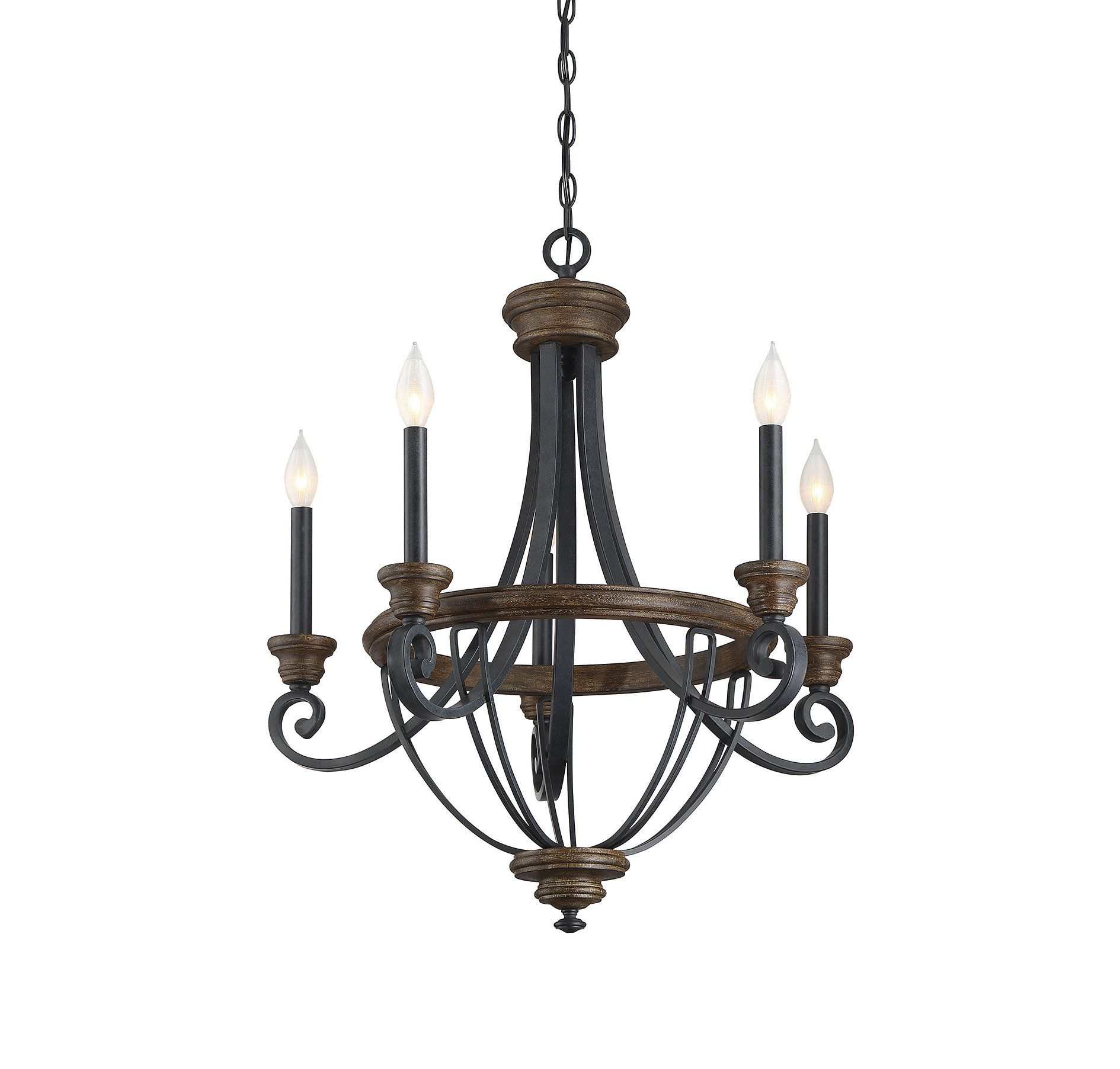 Cherry light candlestyle chandelier products pinterest