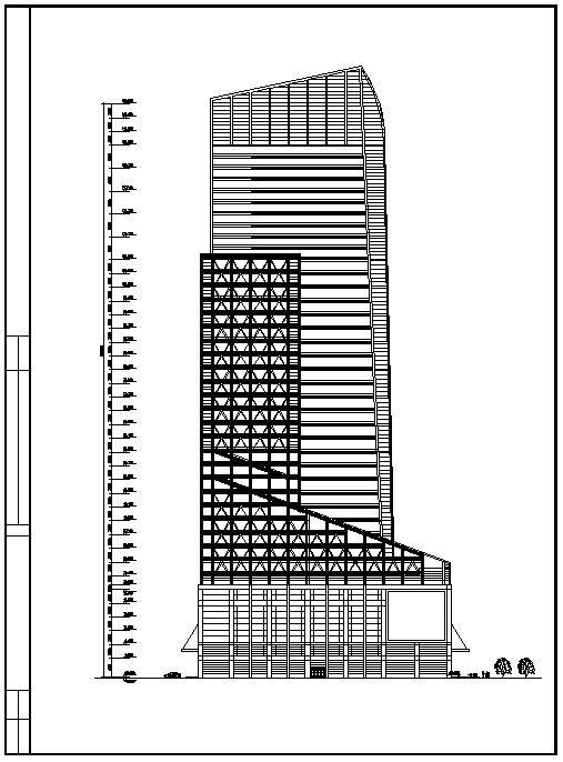Skyscraper Design Cad Design Free Cad Blocks Drawings Details