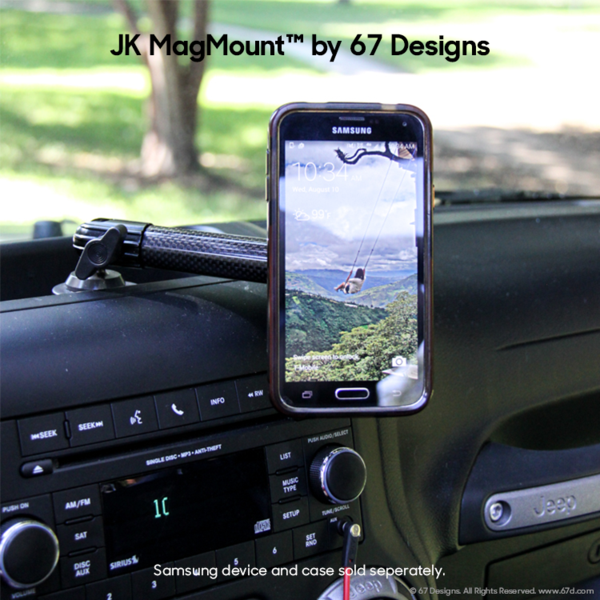 Jeep Jk Mount 2011 2018 With Magmount G2 Jeep Jk Jeep