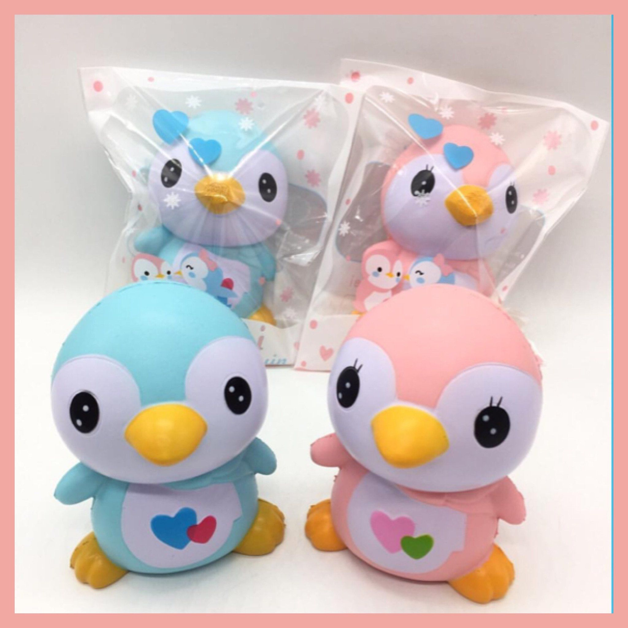Squishy Toys With Slime In It : Penguin Squishies Penguins, Squishies and Slime