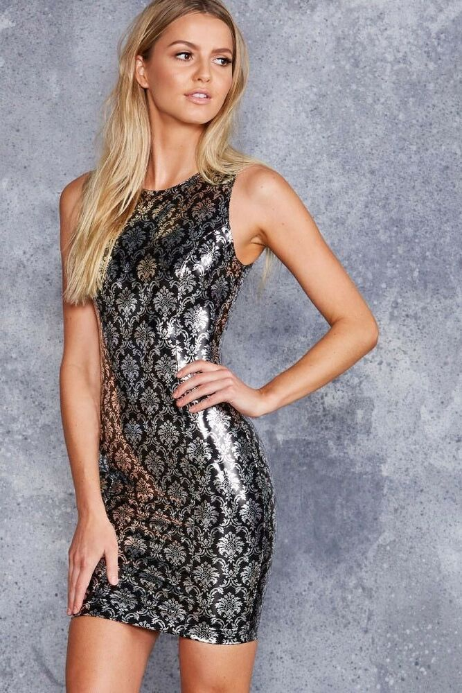 Get This Dress And Accessories At Its Fashion Metro In: BLACK MILK SIZE M WALLPAPER SHINY SHINY PVC FATALE DRESS