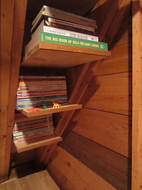 Tiny House Storage Space Saving Under The Stairs Tiny