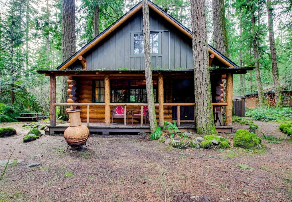Booking Com Vacation Home Zoe S Log Cabin Welches Usa Book Your Hotel Now Cabin Log Cabin House Rental