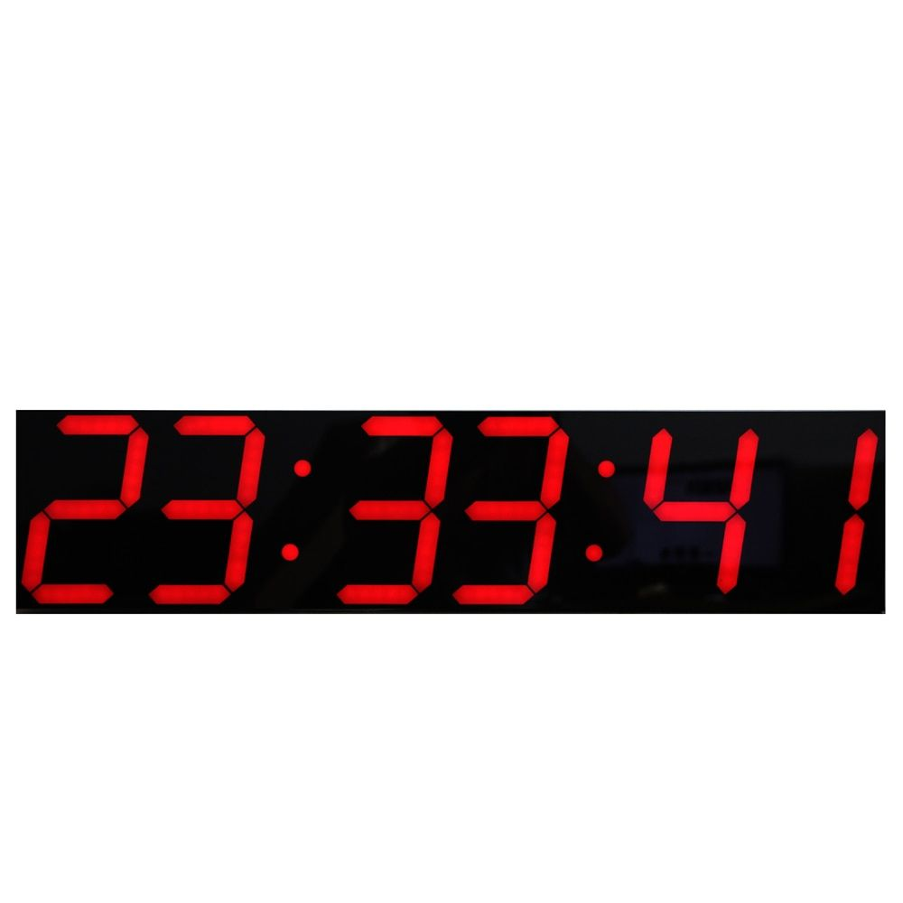 Oversize Led Digital Wall Clock With Remote Control Large Temperature Calendar Display Support Countdown Stopwatch Large Led Wall Clock Clock Digital Wall