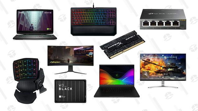 Upgrade Your PC With This Huge Cyber Monday Sale on PC Gaming Gear -